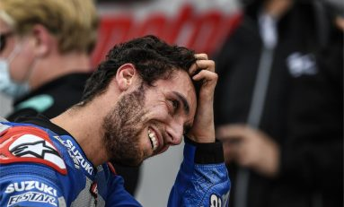 Kembali Podium di MotoGP Aragon, Rins: Sangat Sulit Bertarung dengan Franco Morbidelli