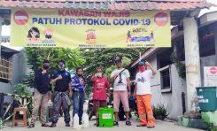 Komunitas Bikers SMC Bekasi Raya Ambil Peran Putus Penyebaran Covid-19