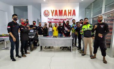 Komunitas Bikers Generasi 125 Yamaha Menjamur di Kota Ambon