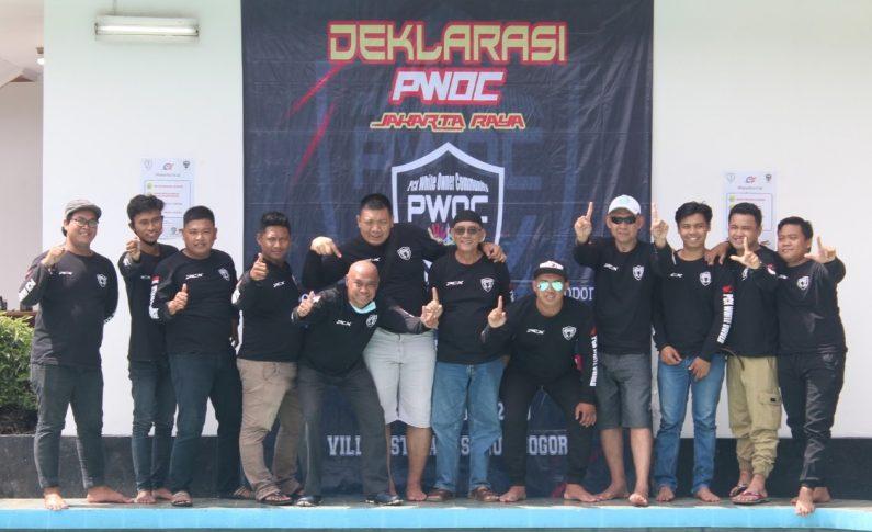 PCX White Owner Community (PWOC) Jakarta Raya Deklarasikan Diri