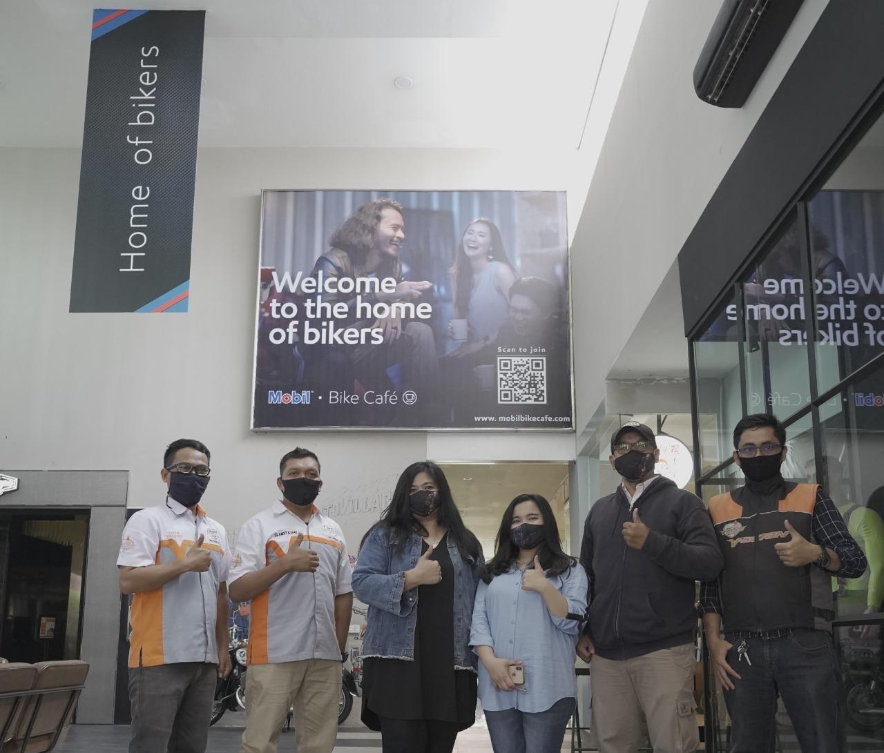 Mobil Bike Café, Home of Bikers Hadir Pertama Kali di Indonesia