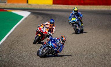 Alex Rins Santai Hadapi Persaingan dengan Marquez
