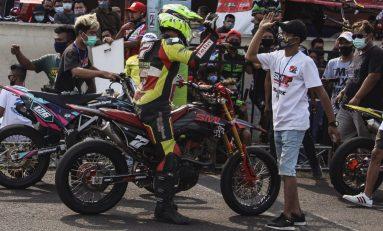 Tampil Impresif, SMI Racing Team Juara 1 Jabar Open Road Race Championship 2020