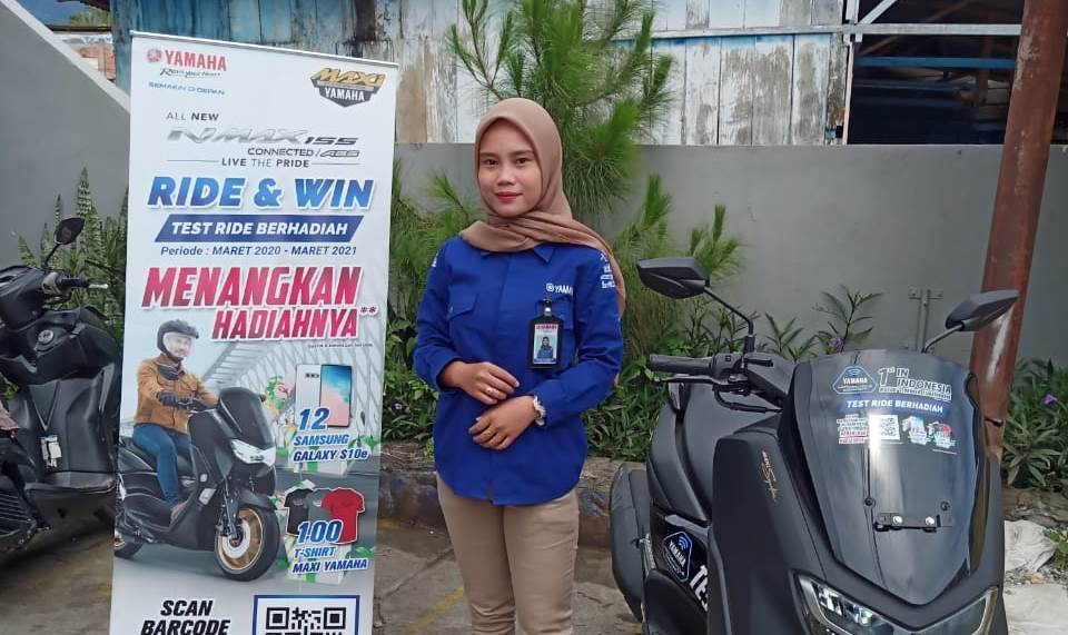 Test Ride All New NMax 155 Connected Berhadiah Samsung S10E