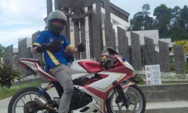 Kisah Cerry 'Bikers Mantan Team Pembangkang' Touring Perdana ke Kalimantan Seorang Diri (Bagian 1)