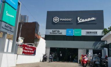 Dealer Piaggio dan Vespa Hadir di Jantung Kota Surabaya