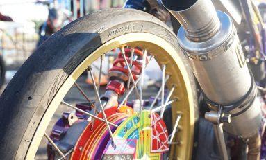 Ban FDR Drax Jadi Andalan Joki di Kejurnas Drag Bike