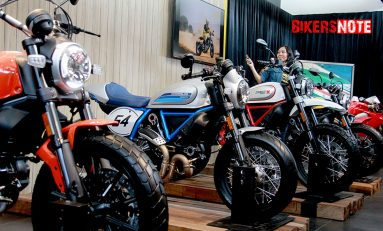 Beli Motor Ducati, Gratis Bea Balik Nama (BBN)