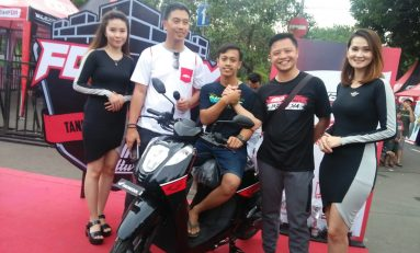 FDR Day 2019 Tangerang: Kumpulkan Botol Plastik, Pria ini Bawa Pulang Skutik Honda Genio