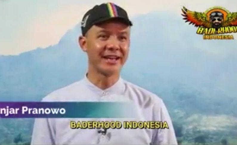 Baderhood Indonesia Dapat Pesan Khusus dari Gubernur Ganjar Pranowo