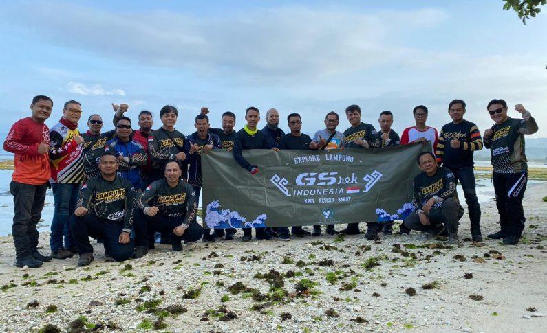 Keseruan GSrek Jakarta Touring Keliling Provinsi Lampung
