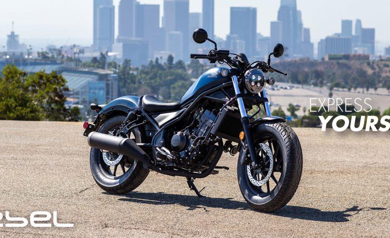 Honda Rebel 2020 Punya Wajah Baru