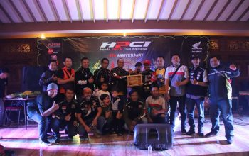 Meriah! Perayaan HUT ke-5 HPCI Bogor Dihadiri Bikers Luar Kota