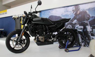 Husqvarna Svartpilen 701 Resmi Mengaspal di IIMS Motobike Expo 2019