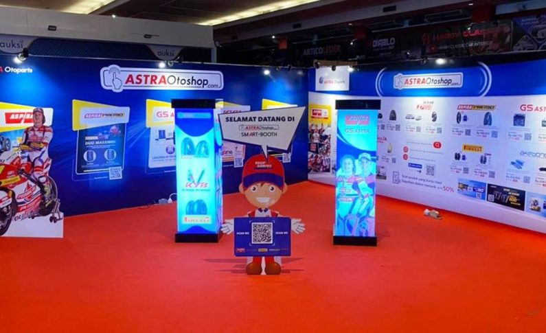 Astra Otoparts Hadir dengan Astra Otoshop Smart Booth di IIMS 2021