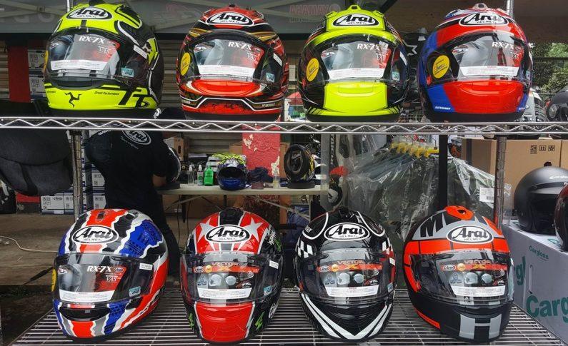 Prime Gears Beri Diskon Spesial Helm Arai dan Sarung Tangan Taichi di Seri Perdana Indoclub Championship 2020