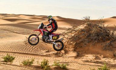 Honda Juarai Stage 7 Rally Dakar Arab Saudi 2020, Giliran Joan Barreda Finish Terdepan