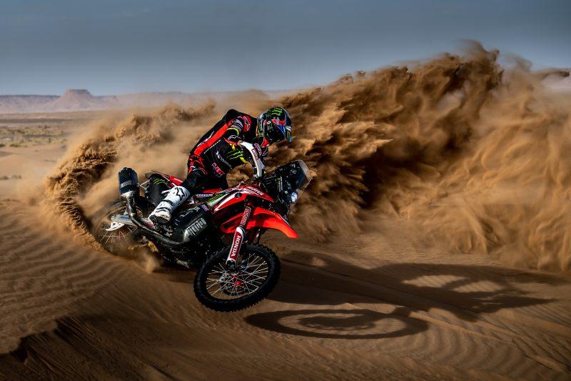 Tiga Pebalap Honda Finish Terdepan di Stage 10 Rally Dakar Arab Saudi 2020