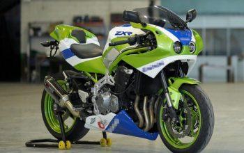 Tampilan Retro Kawasaki Z900 Bikin Pangling