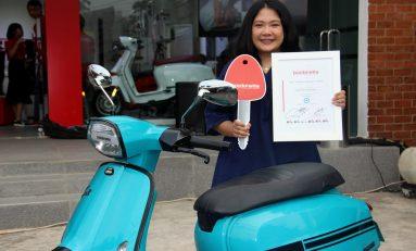 Monica, Bikers Wanita Pertama Indonesia Pemilik Lambretta