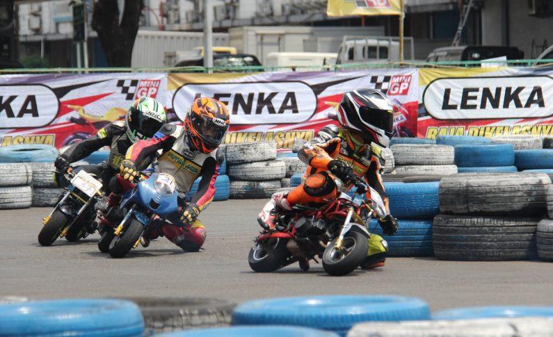 Persaingan Pebalap Cilik Makin Sengit di Seri 3 LENKA MiniGP Cup Prix 2019