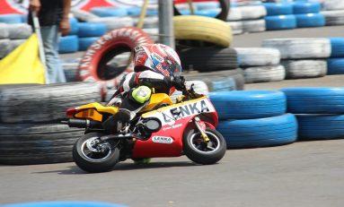 8 Pebalap Cilik Naik Kelas di LENKA MiniGP Cup Prix 2020