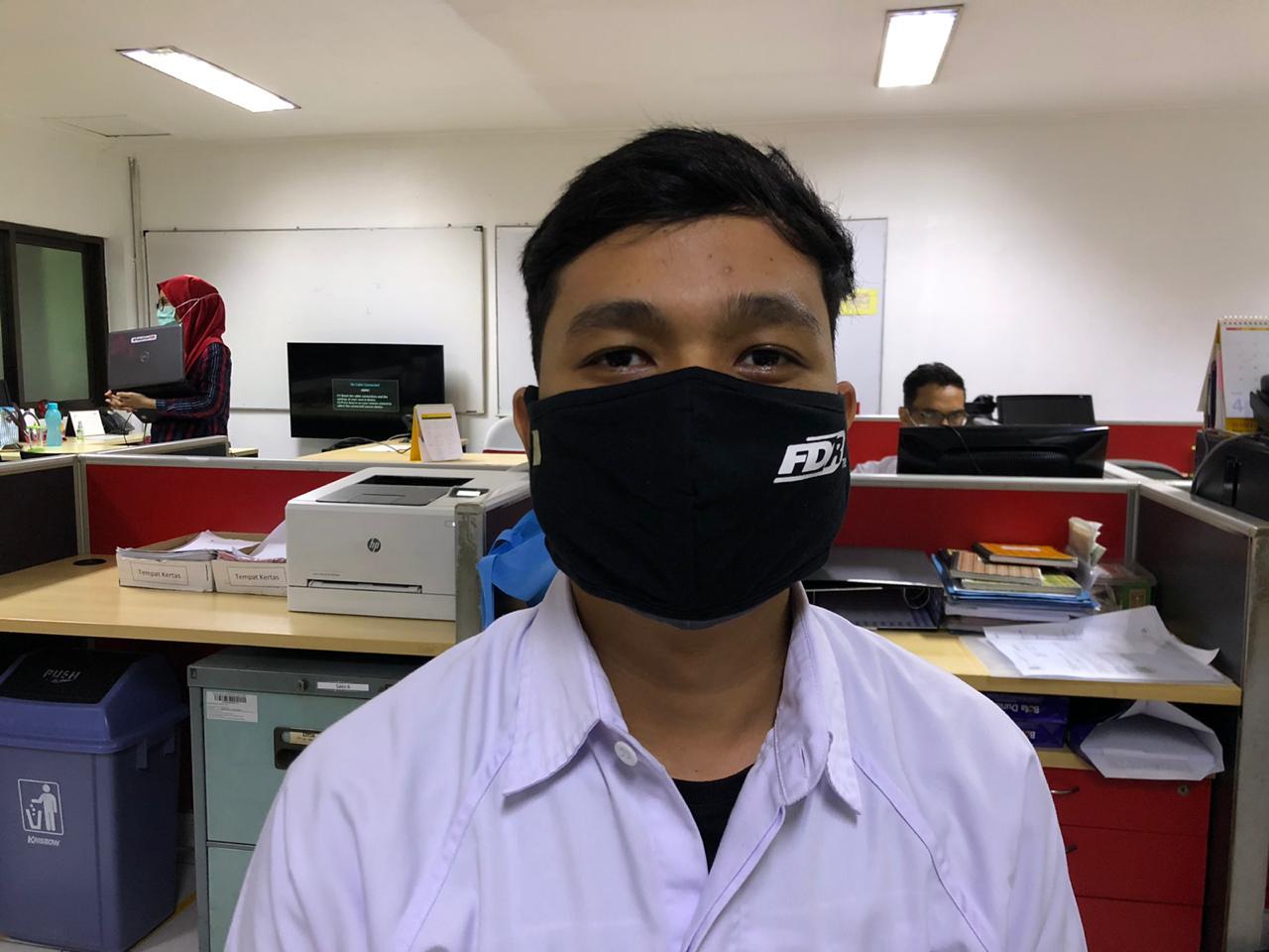 Donasi FDR dengan Berbagi Masker Gratis
