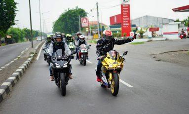 Fun Touring Komunitas CBR Jawa Timur Tutup Tahun 2019