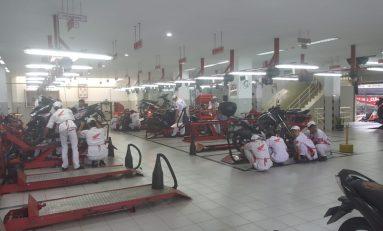 Bengkel AHASS Jawa Timur Layani Ganti Oli Serentak. Hanya 5 Menit Plus Diskon