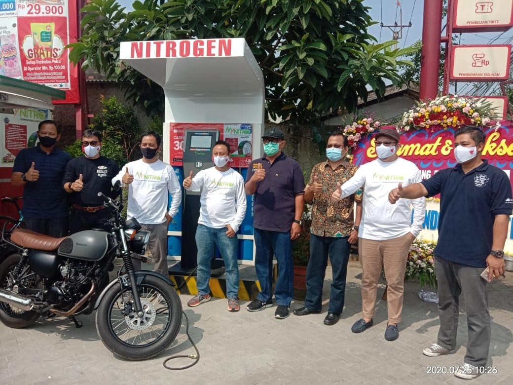 My Nitro, Mesin Pengisian Ban Kendaraan dengan Nitrogen Murni Layaknya ATM. Pertama di Asia