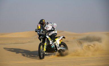 Husqvarna Menang Tipis dari KTM, Honda Jeblok di Stage 11 Rally Dakar Arab Saudi 2020