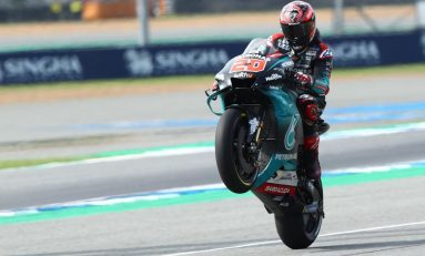 Quartararo Raih Pole Position, Yamaha Dominasi MotoGP Thailand