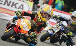 Rangga Ananda Double Winner Kelas Pro di LENKA MiniGP Cup Prix Jogja 2020