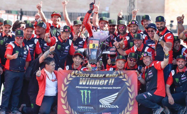 Honda Juara Reli Dakar 2020 Setelah Puasa 30 Tahun