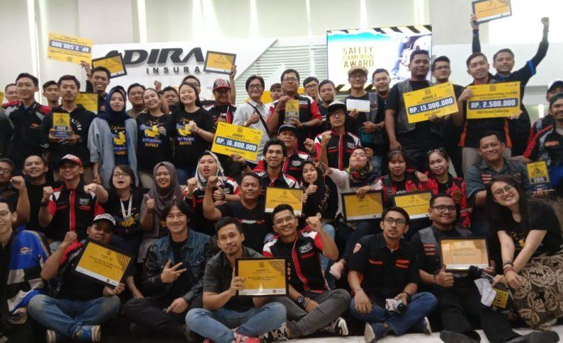 CBR Tangerang Club Juara 1 Safety Campaign Award (SCA) 2019