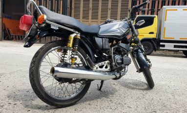Scarlet Racing Luncurkan Shockbreaker Yamaha RX King