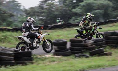 Hobi Nikung, Supermoto Indonesia (SMI) Bandung Gelar Track Day di Sirkuit Gery Mang