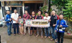 Para Bikers Suzuki Satria F150 Club (SSFC) Berikan Donasi Untuk Korban Banjir Jakarta dan Bekasi