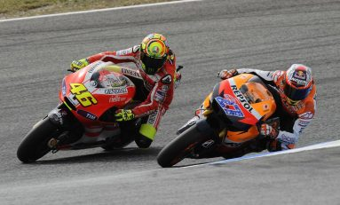 Stoner Sedih Melihat Nasib Rossi di MotoGP