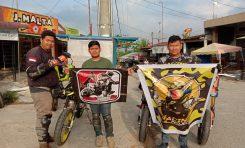 3 Bikers Supermoto Indonesia (SMI) Riau Touring ke Nol Kilometer Sabang