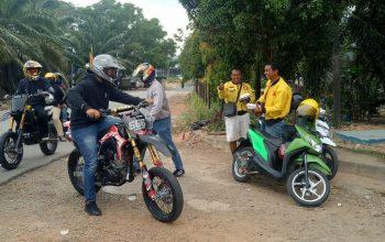 Supermoto Indonesia (SMI) Batam Berbagi ke Sesama Bikers