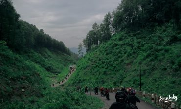 Kopdargab Supermoto Ngapak Sambil Cicipi Jalur Ekstrem Gunung Lio