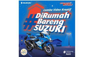 Di Rumah Aja, Ikuti Kompetisi Video Suzuki Berhadiah Jutaan Rupiah