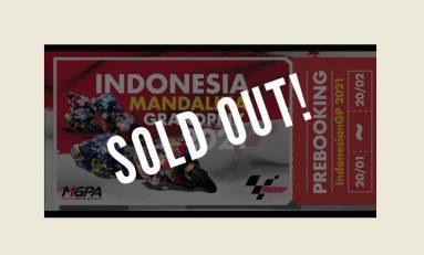 Tiket MotoGP Indonesia 2021 Ludes Terjual