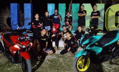 Touring Wajib Perdana Aerox Owners Club (AOC) Sukabumi Jadi Momen Pemersatu Member