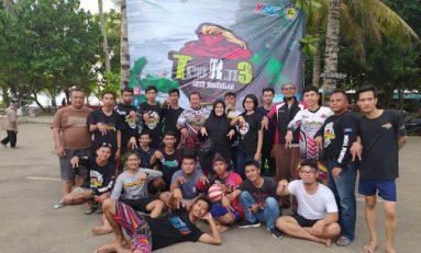 Touring Wajib ke-3 ARCI Kuningan Susuri Pantai Pangandaran