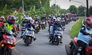 Touring Wajib ke-6 ARCI Jakarta Sambil Lantik Member Baru