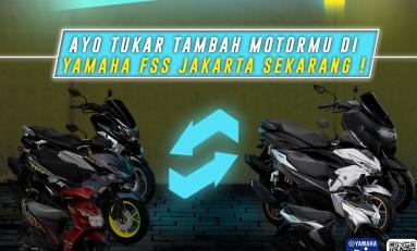 Yamaha Punya Program Tukar Tambah, Bisa Merek Apa Saja