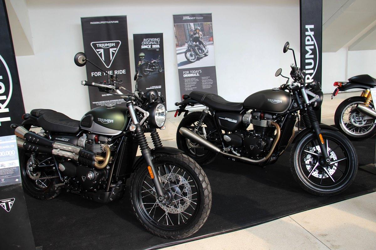 Produksi Motor Triumph Dipindah ke Thailand