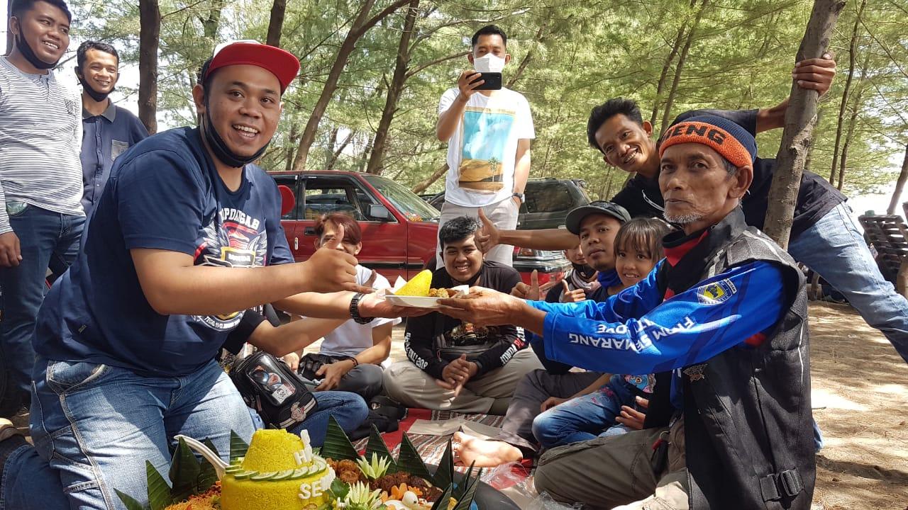 Syukuran Honda PCX Club Indonesia (HPCI) Semarang di Ulang Tahun ke-7
